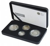 2008 Silver Proof Piedfort Collection